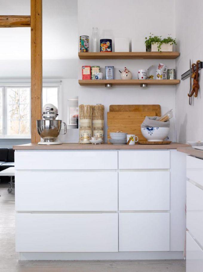 Ryddig åpne hyller kjøkken - Google-søk | Kjøkken i 2019 | Home, Home ZI-74
