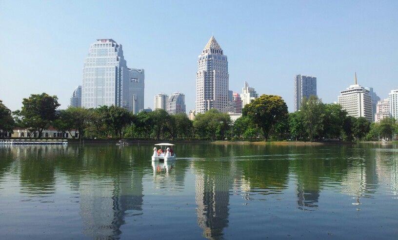 Lumpini park this morning.. Bangkok thailanf.