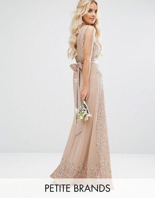 ff2fb905a3fa Maya Petite Embellished Maxi Dress With Bow Back