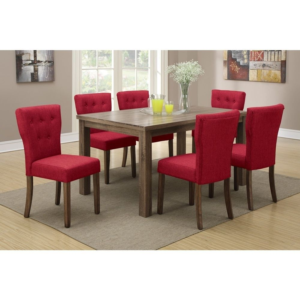 Rouge Wideback Dining Chairs Set Of 6