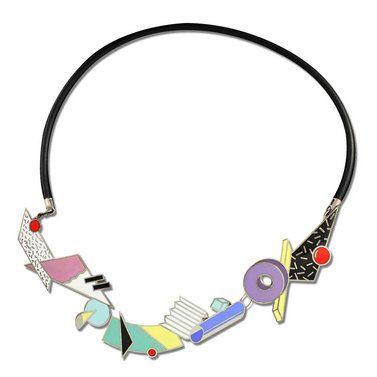 Adrian Olabuenaga ATOMIC Necklace Jewelry Memphis Designers for ACME