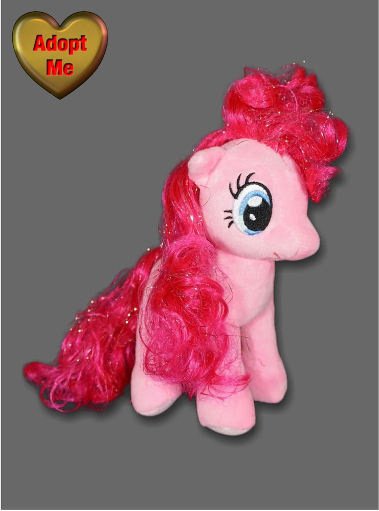 Details about Ty Hasbro Pink My Little Pony Sparkle Pinkie