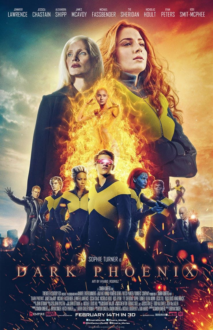X Men Dark Phoenix Will Be A Big Departure From Apocalypse Dark Phoenix X Men The New Mutants