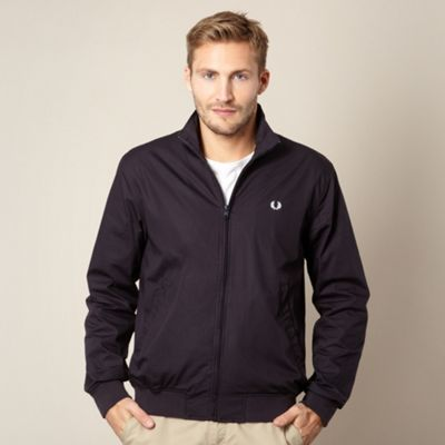 afcf67f1f Fred Perry Navy fleece lined jacket- at Debenhams.ie   Men's fashion ...