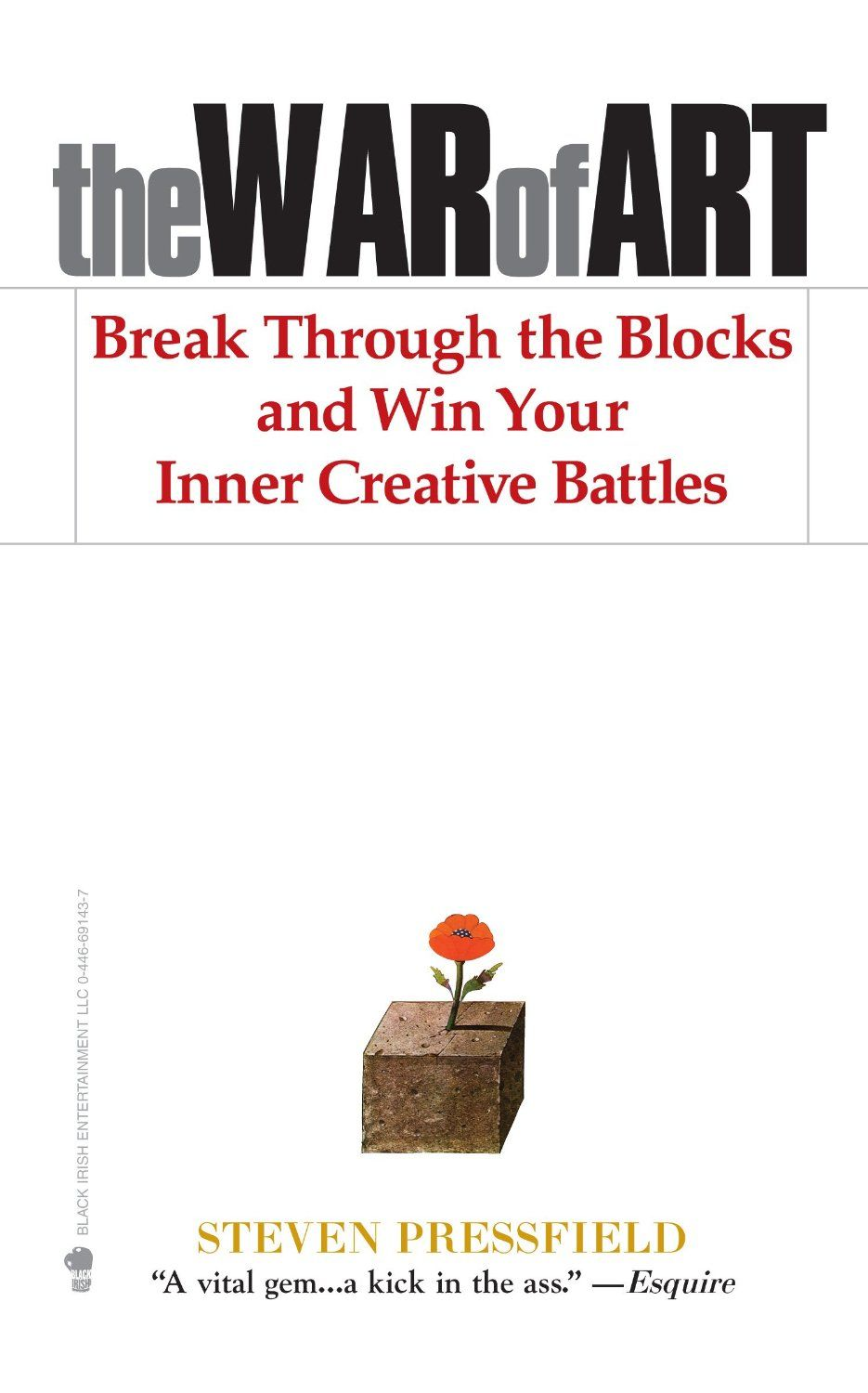 The War of Art. Break Blocks and Win Creative Battles. Inspirational book that will help kick your creativity into high great. A great entrepreneurial bool that will help kickstart the creative side of your brain regardless of your field.  Top business and entrepreneur book. #selfimprovement #selfhelp #growthmindset See book here: http://www.developgoodhabits.com/War-Art