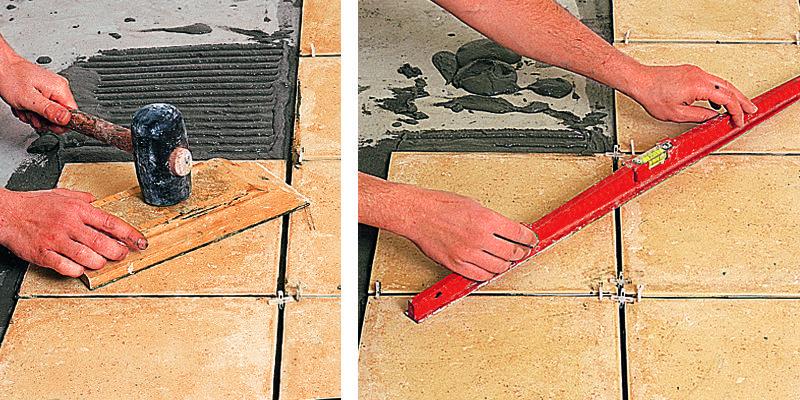 Comment poser du carrelage au sol ? Construction and Restoration - pose carrelage terrasse sur dalle beton