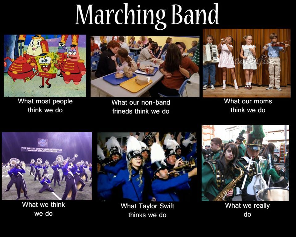 High School Marching Bands Photo Marching Band Marching Band Humor Band Quotes Band Jokes