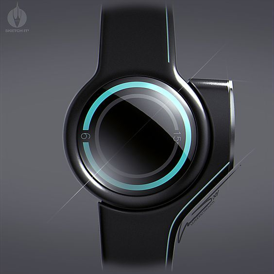 futuristic watch it is like phone and watch together: