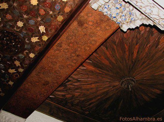 Artesonado del Mexuar en la Alhambra