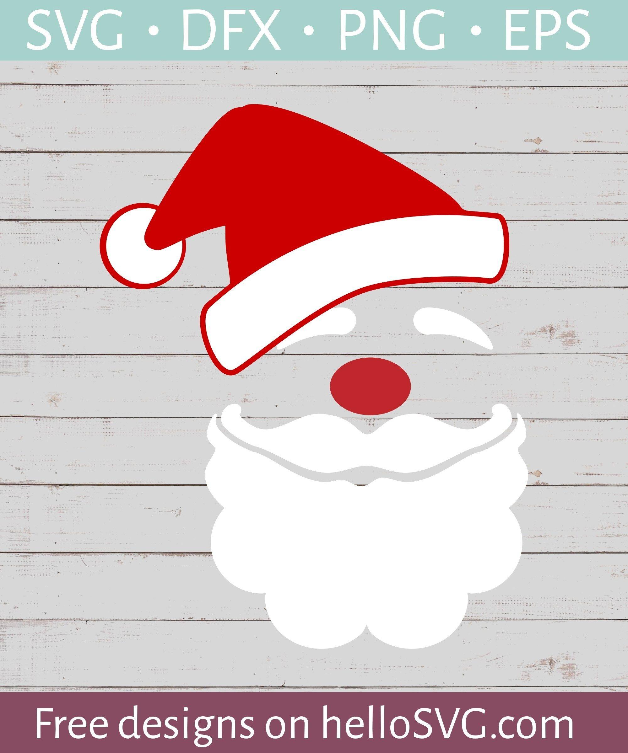 Santa Claus 1 Free svg, Svg free files, Svg