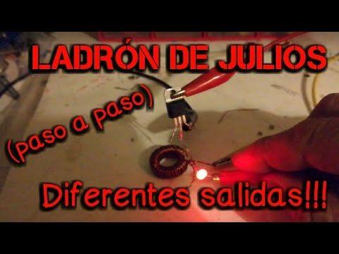 Ladrón de Julios (paso a paso + diferentes salidas)