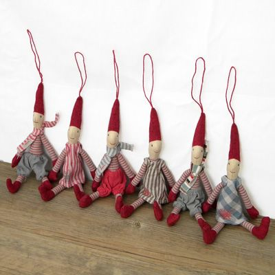 Maileg Christmas Pixies - Hanging Decoration