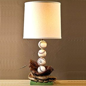 Baseball Lamp (cubs Would Be Better)