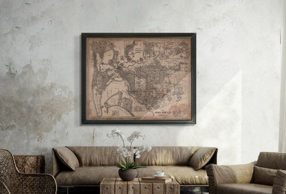 Similar To Restoration Hardware Maps But Not Affiliated With Or Produced By