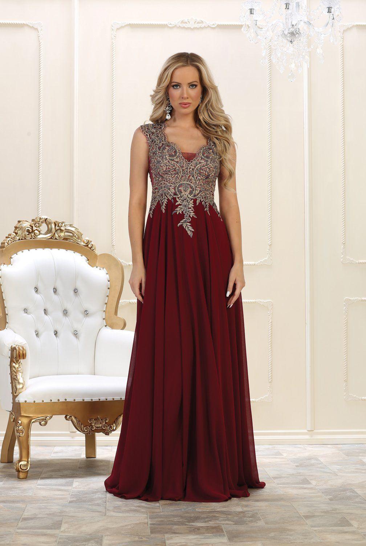 Prom dress long evening gown plus size formal madre de novia