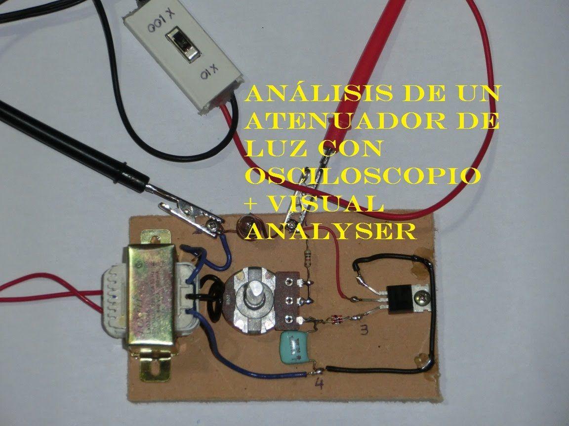 Circuito Sencillo : Como usar el osciloscopio analizando un circuito sencillo videos