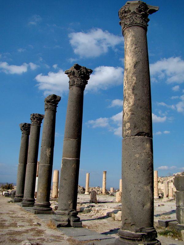 Roman ruins of Gadara, Jordan