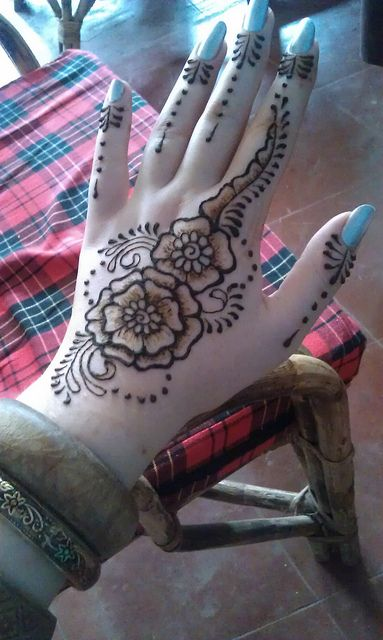 simple hand inspiration - would be cool to incorporate somewhere else too