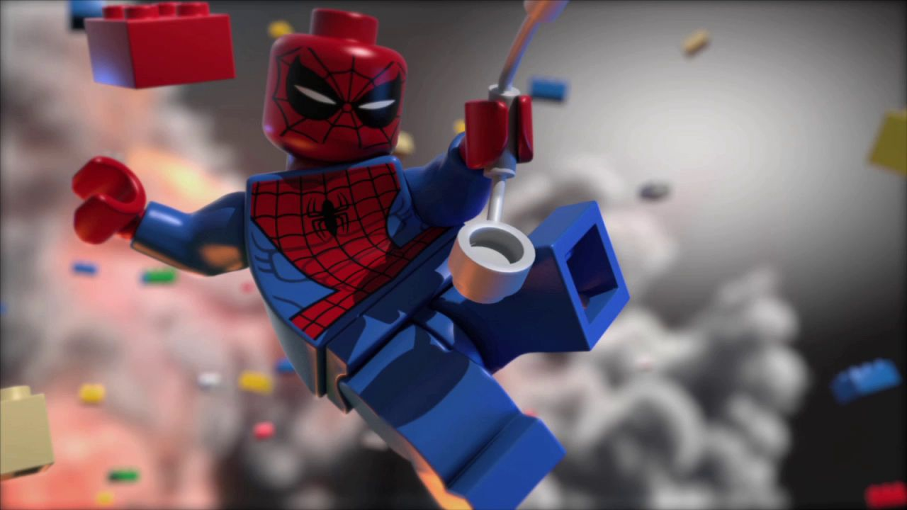 Pin By Warner Games On Lego Marvel Lego Spiderman Lego Wallpaper Lego Marvel