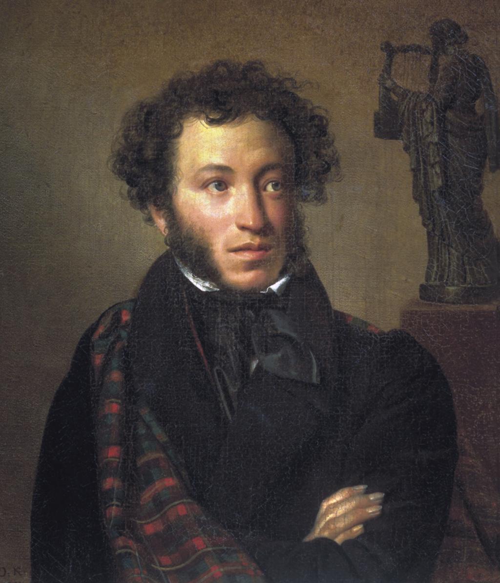 Orest Kiprensky Portrait Of Alexander Pushkin