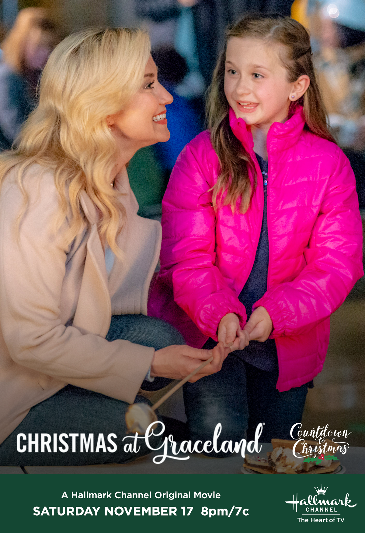 Christmas At Graceland Hallmark.Kellie Pickler And Claire Elizabeth Green Star In The First