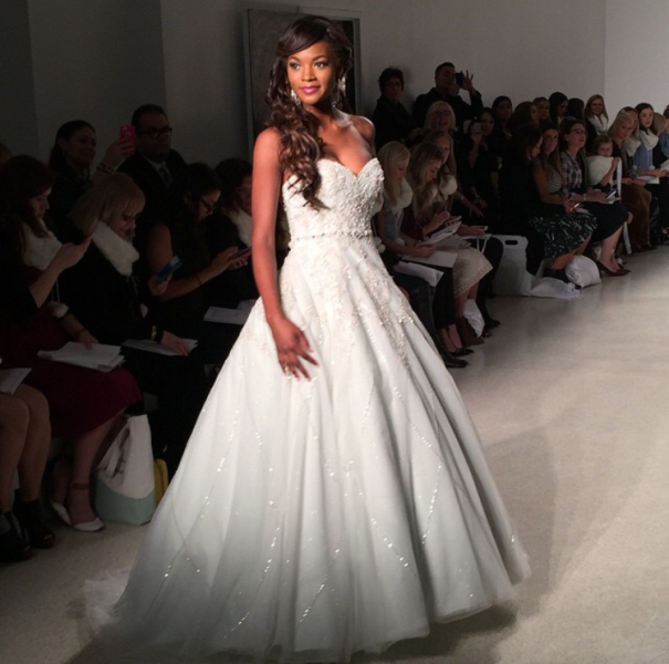 First Look at 2015 Disney Wedding Gowns from Alfred Angelo ...