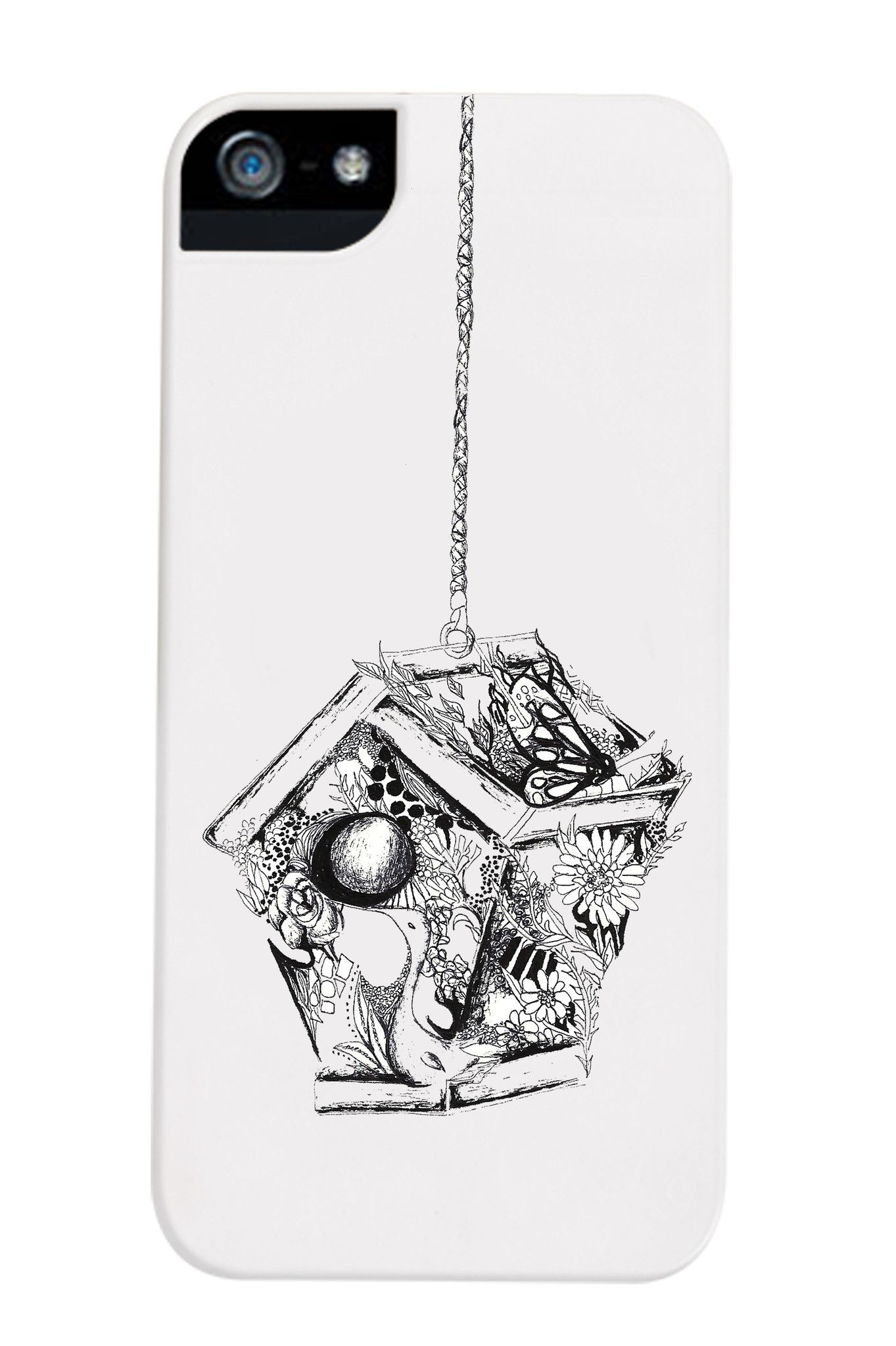 Birdcage Phone Case by Nikita & Vesper. This phone case is for the birds... actually it's super cool. Check it out!  $35