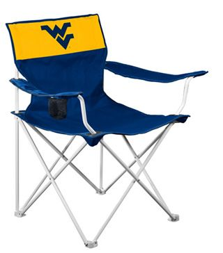 Wvu Canvas Tailgate Chair I Need This For Flag Football
