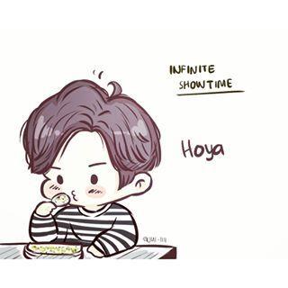 Hoyayahohoyayaho Infinite Hoya Mydrawing Sketch Kpopfanart Artwork Art Anime Kpop Hoya Leehowon Inspirit Infinit Fan Art Kpop Fanart Chibi