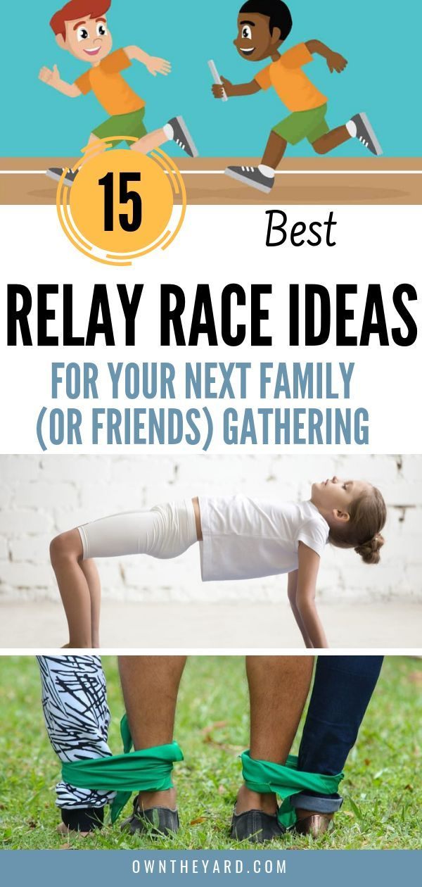 Best Relay Race Ideas For Picnics, the Beach and Family Gatherings 2019