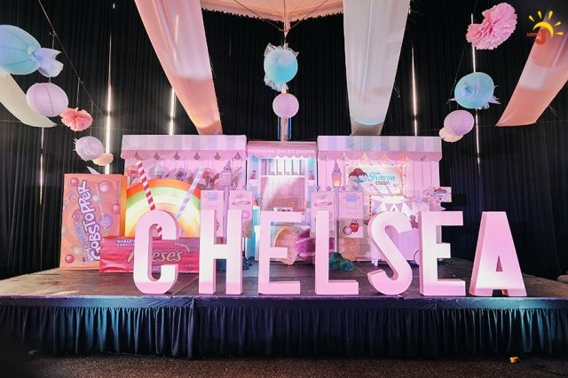 Chelsea S Sweet Shoppe Themed Party 1st Birthday Party Themes 1st Birthday Parties Birthday Parties