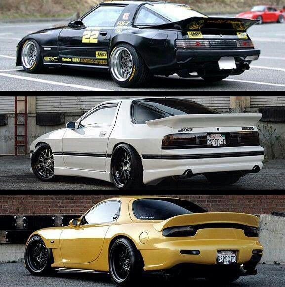 rx7 whats your favorite fb fc or fd? | cool cars | Pinterest | Rx7
