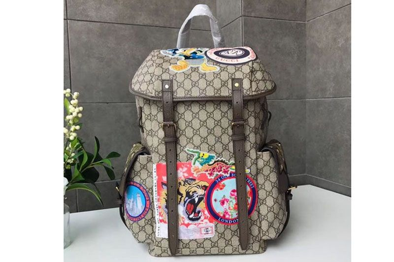 cabc668a9195 Replica Gucci Soft GG Supreme Embroidered Donald Duck Backpack With  AppliqueS 460029 … Continue reading →