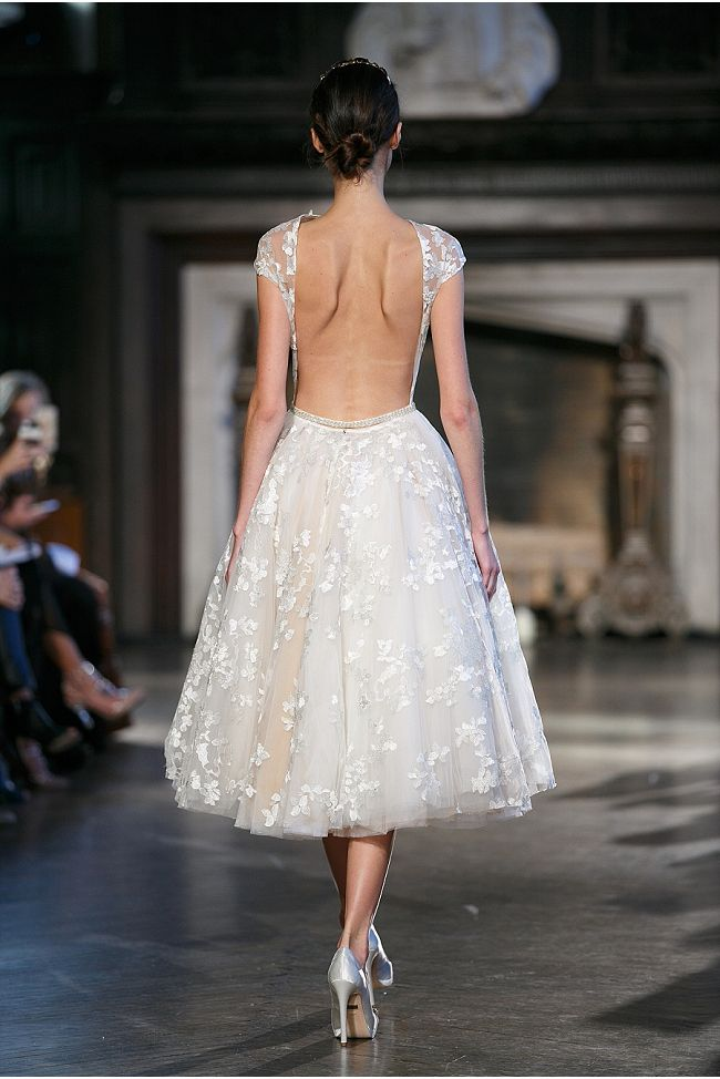 Sexy Wedding Dresses by Inbal Dror / 2015 Collection / SYPhotography http://syphotography.com/ / via StyleUnveiled.com