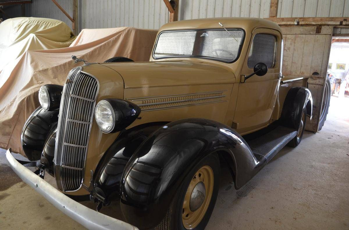 1936 dodge lc pickup pickups panels vans original. Black Bedroom Furniture Sets. Home Design Ideas
