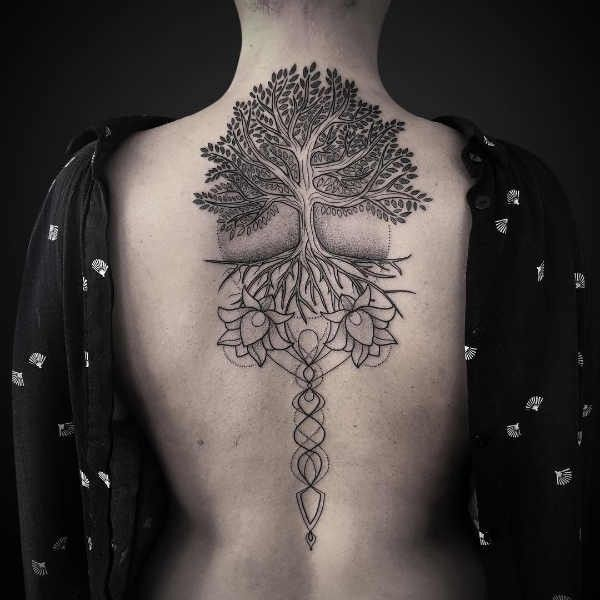 Photo of Tatouage d'arbre – sens, histoire, 50 photos