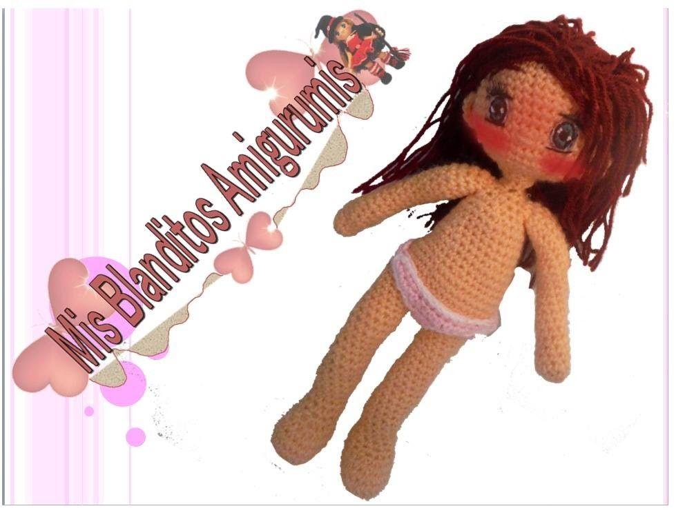 Tutorial crochet patrón braguitas muñeca Lilia amigurumi | Amigurumi