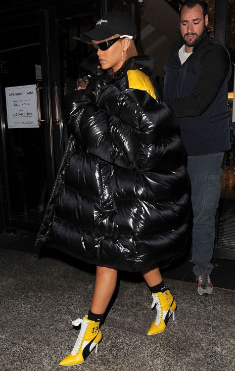 August 19: Rihanna out in London | Fenty Style