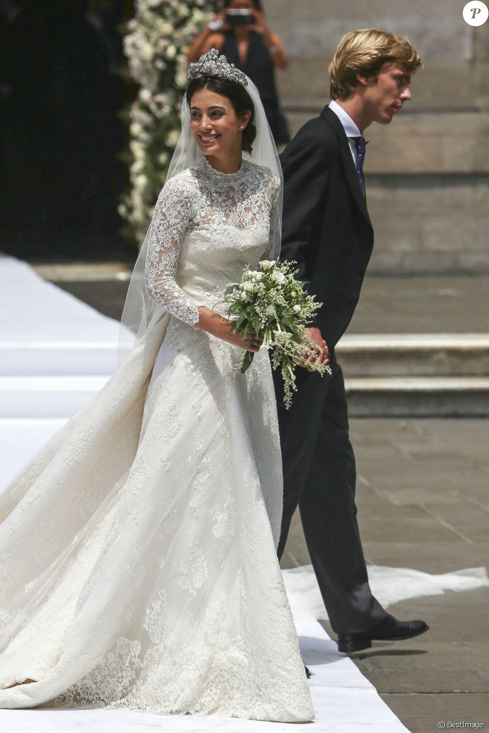Christian De Hanovre Et Sassa De Osma Mariage Princier Devant Kate Moss Robes De Mariage Célèbres Robes De Mariée Royales Mariage Princier