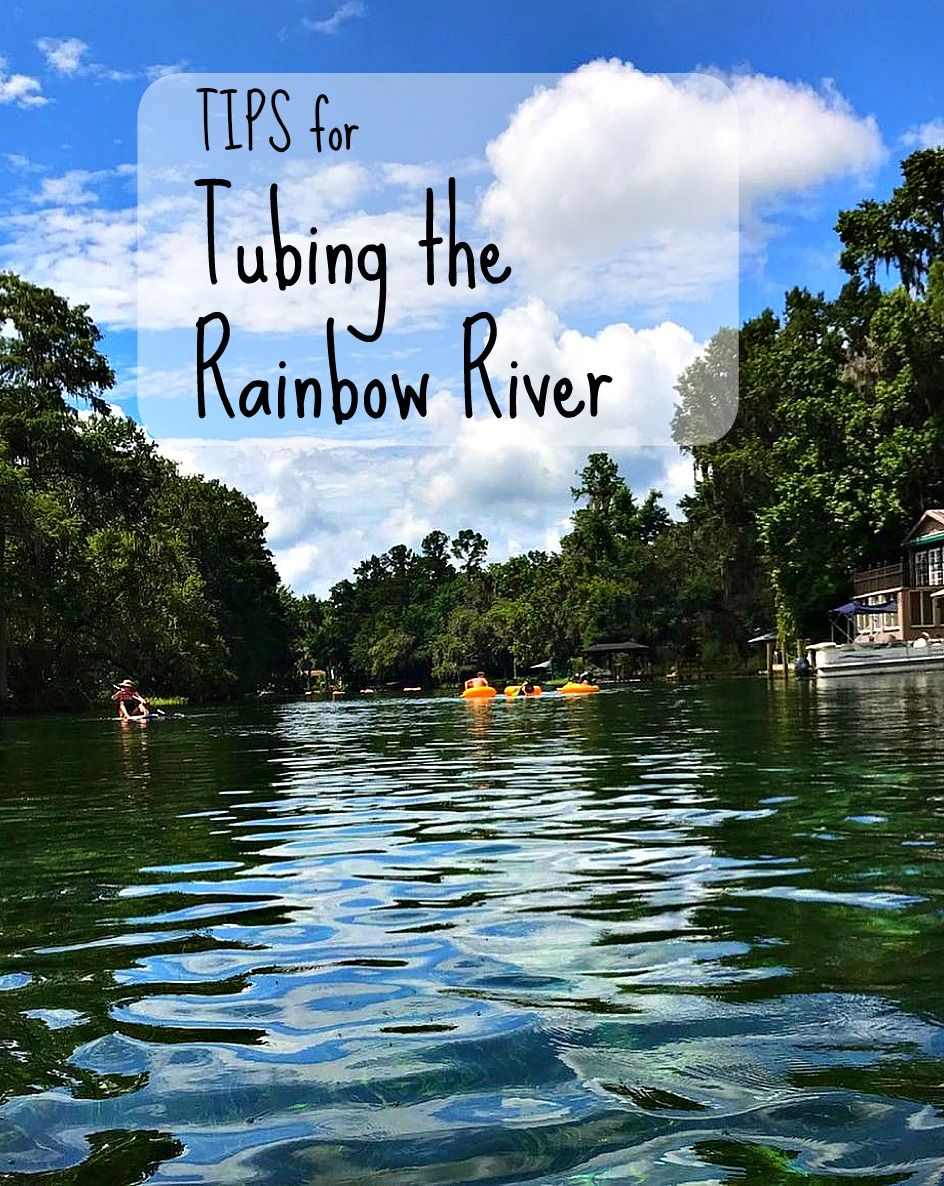 Tips For Tubing The Rainbow River With Images Rainbow River