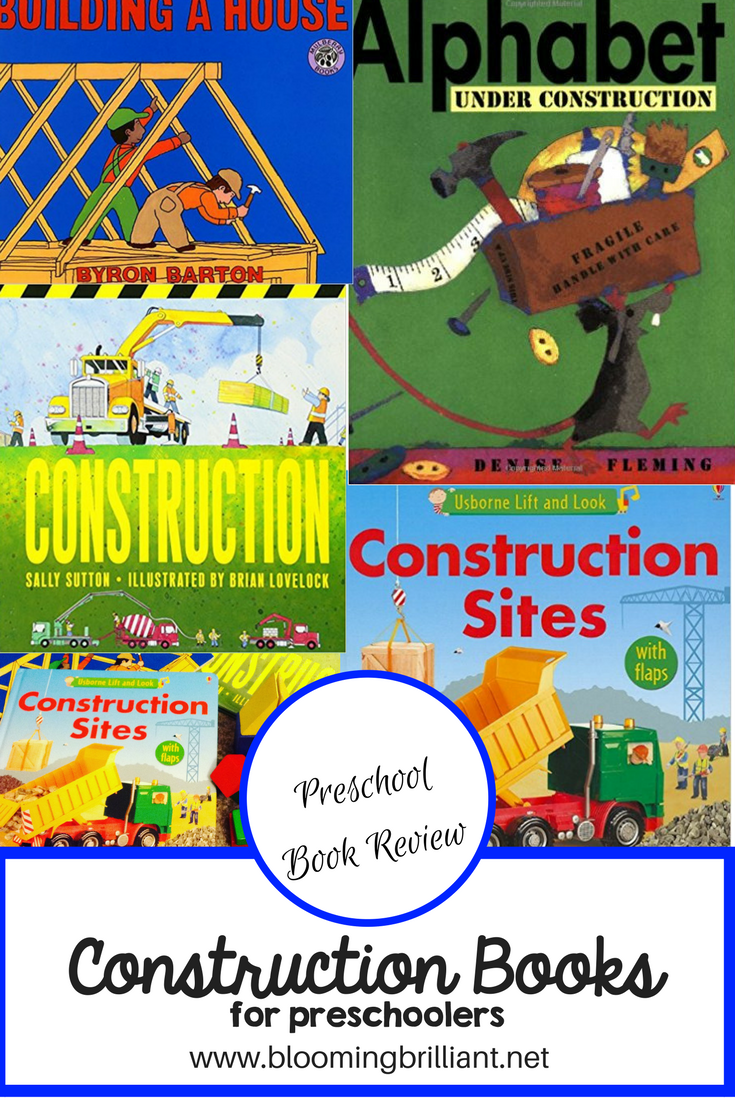 Preschool Construction Kidlit Bookreview Homeschool Preschool