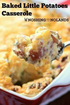 Baked Little Potato Baked Little Potato Casserole by Noshing...  Baked Little Potato Baked Little Potato Casserole by Noshing With The Nolands Recipe : http://ift.tt/1hGiZgA And @ItsNutella  http://ift.tt/2v8iUYW