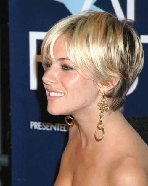 Simple Formal Hairstyles For Thin Hair : Cute short blonde pixie haircuts for thin hair