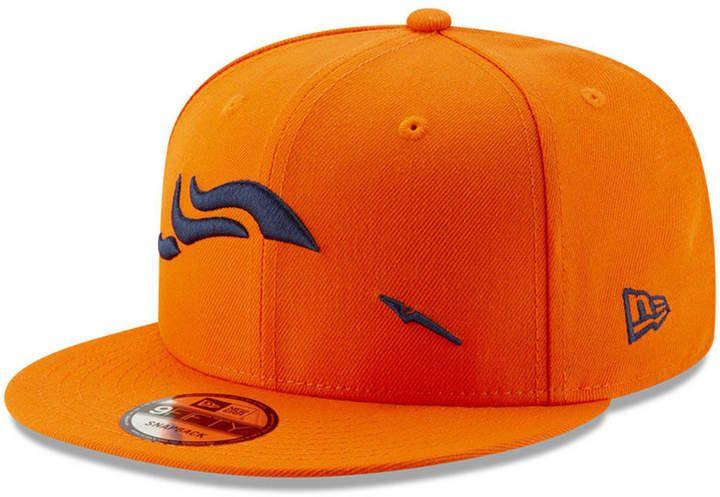 New Era Denver Broncos Logo Elements Collection 9FIFTY Snapback Cap ... 4cb75671058