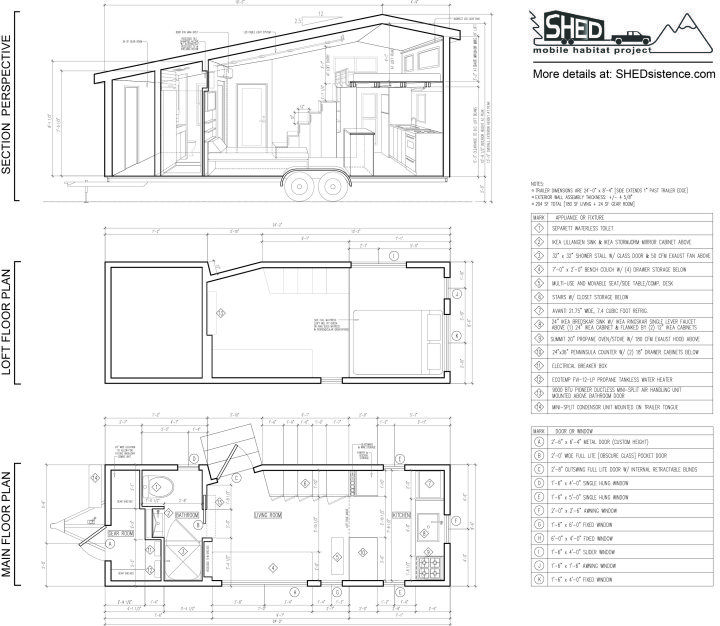 Shed Dimensioned Floor Plan Small Free Tiny House Plans