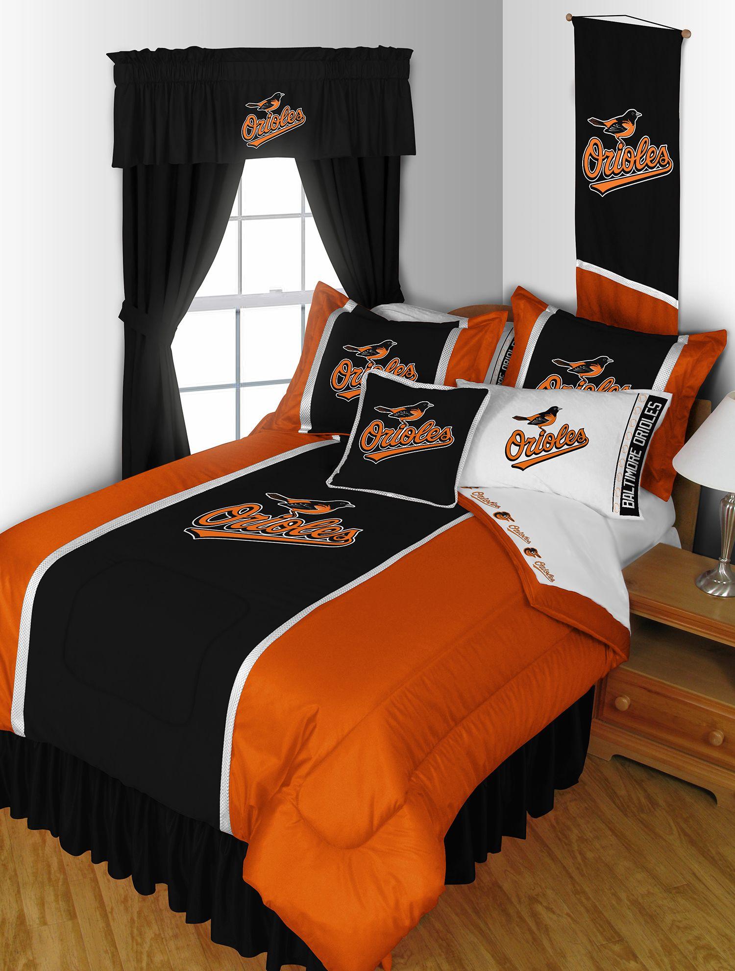 MLB Baltimore Orioles Bed Room Set