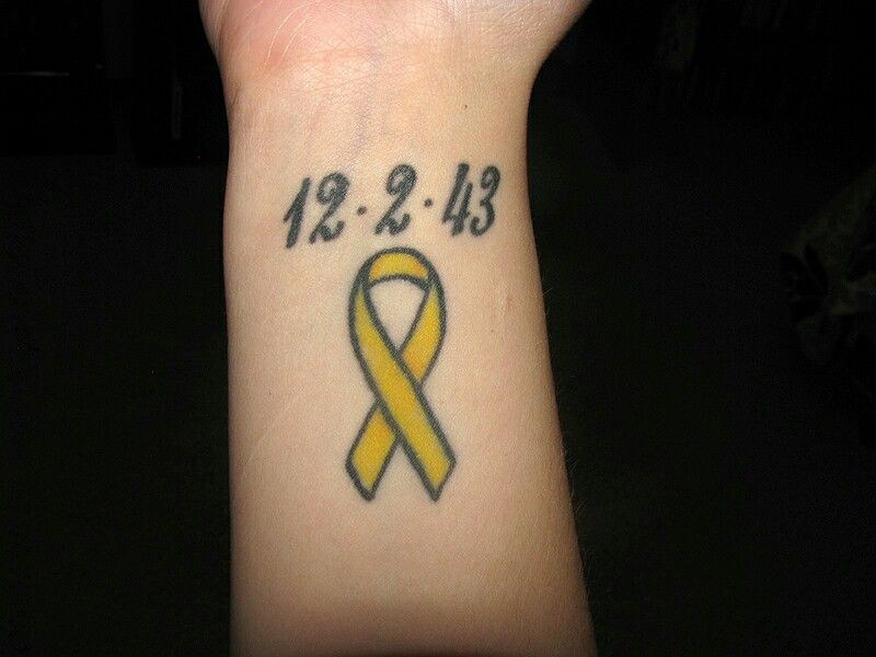 sarcoma cancer ribbon tattoos medicamente pentru tratamentul papilomavirusului