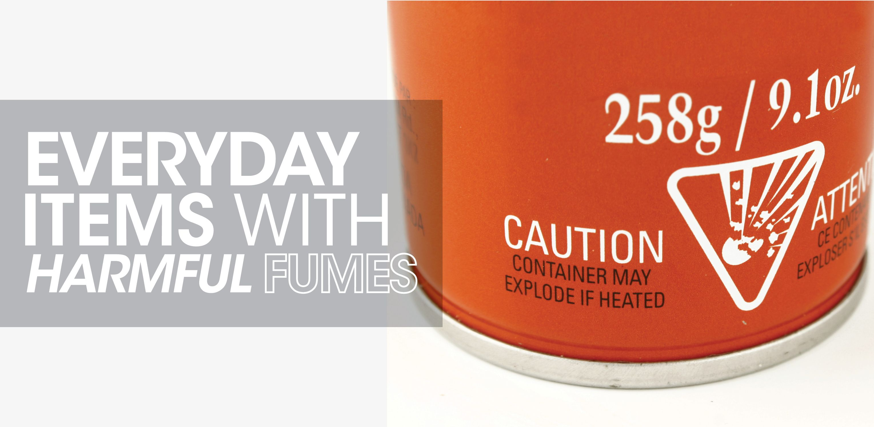 Everyday Items With Harmful Fumes Everyday Items Indoor Air Quality