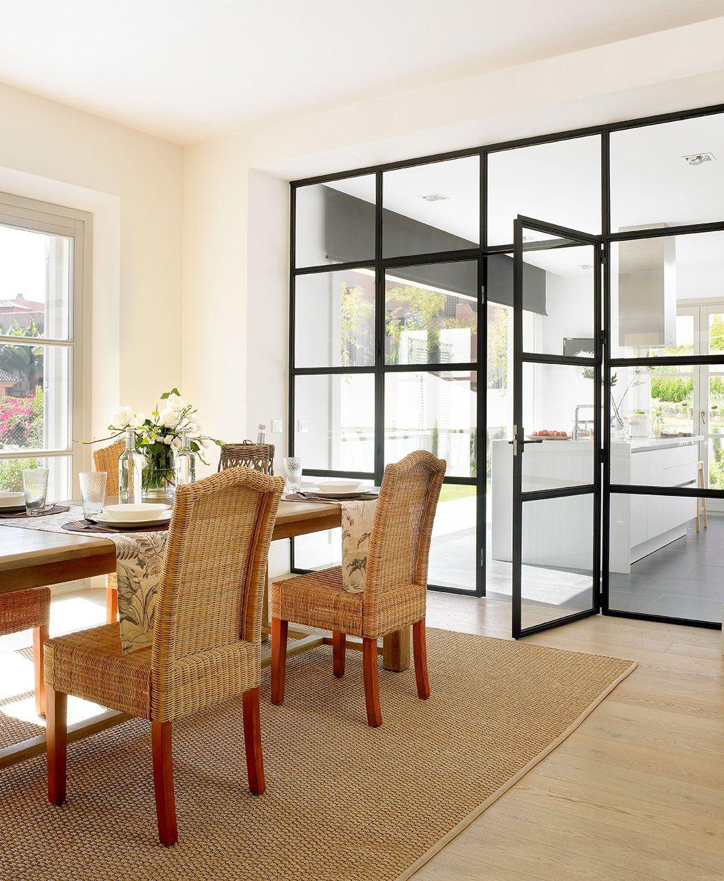 Cambia Tu Casa Renovando Puertas Y Ventanas Puertas Interiores De Vidrio Mamparas De Aluminio Pared Cristal