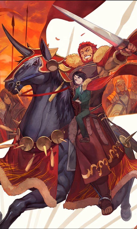 Iskandar/Alexander the Great Fate stay night series